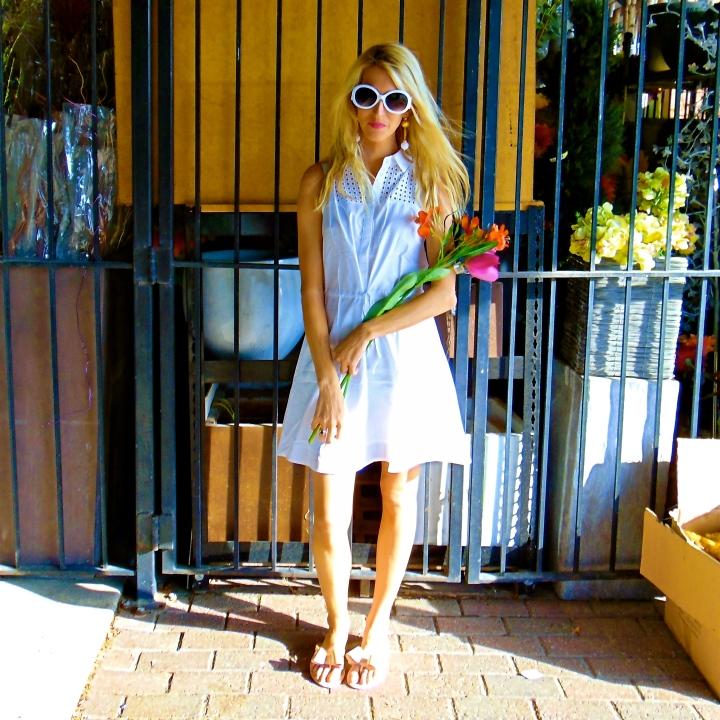 White Shirtdress